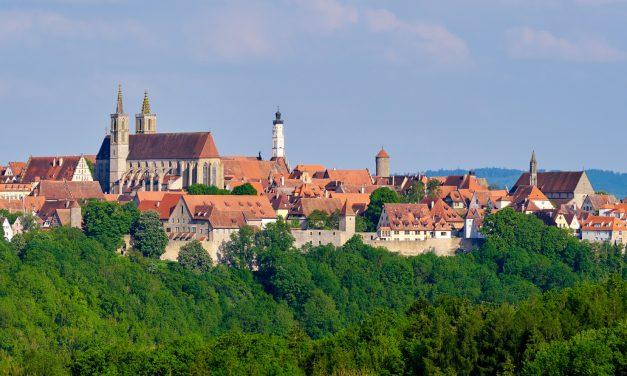 Parcourir la « route romantique » pendant un voyage en Allemagne